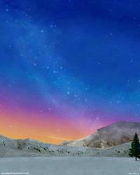Snowy Peaks by stargateatl