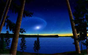 Tranquil Evening by stargateatl