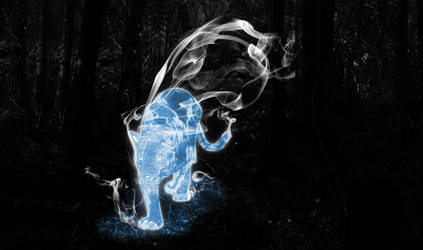 My wife's Patronus by balonyshow
