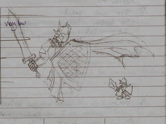 Random Knight by Chaos-Inferno