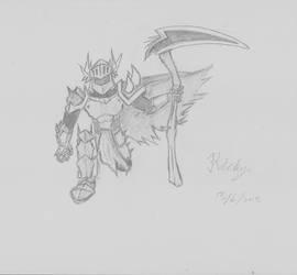 Dark Warrior by Chaos-Inferno