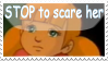 STOP to scare PENNY XD by DarkMetaller