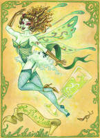 Green Fairy by MaryannHeld
