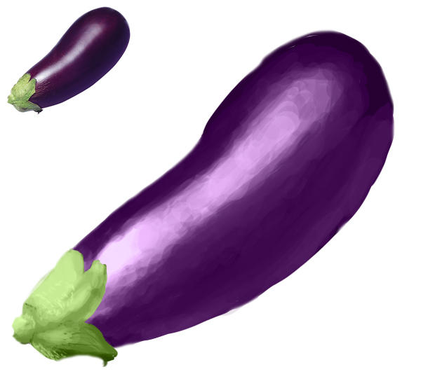 Eggplant Terong by k4glimit