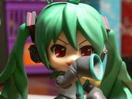 Evil Face Miku by k4glimit