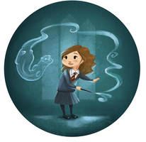Hermione's patronus by Katie-Watersell