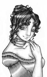 First Lady Dolley Madison by Meaningfull