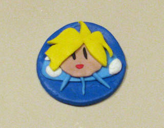 Clay Badge: Gourry Gabriev by DQBunny