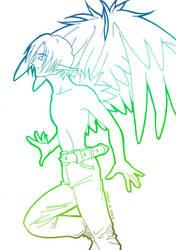 Keyn The Angel by Yoann-H