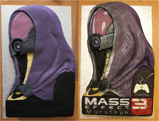 Tali Cake - Before and after painting by BeanieBat