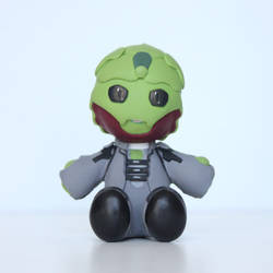 Mass Effect Thane Plushie Sculpture by BeanieBat
