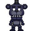 Shadow Freddy Pixel Pop! by Yosho-DA