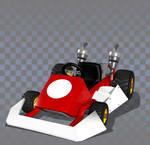 Standard Kart DS (Standard MR Variant) by yoshipower879