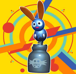 Splats the Rabbit - Sonic Mania by yoshipower879