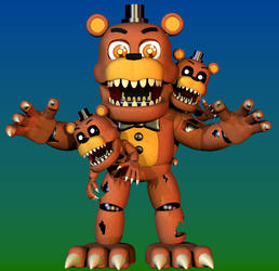 Adventure Nightmare Freddy by yoshipower879