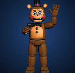 New Toy Freddy by Yosho-DA