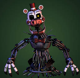 Stylised Molten Freddy by Yosho-DA