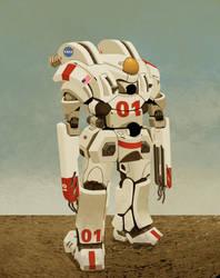 XMS EVA 01 by Greenstuff-Alex