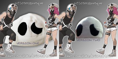 Pokemon Team Skull Grunt Fleece Beanie Hat Cosplay by Alien-Snowflake