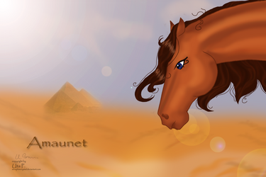Amaunet The Mysterious  Egypt by SeraphimCrystal