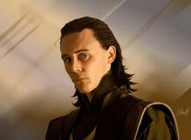 Loki Laufeyson by SeraphimCrystal