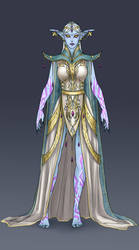 Azshara's outfit: Ceremonial by ammatice