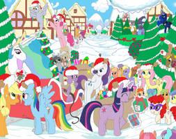 Christmas Ponies by Paul-Lucas