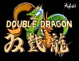 Double Dragon - Title Screen by Rukasusan
