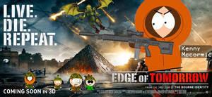 South Edge of Tomorrow Poster by xZeroMan