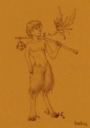 satyr by limlug