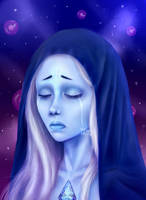 Blue Diamond - Steven Universe - fan art by Ires-Myth