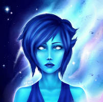 Lapis - Steven Universe - Fan art by Ires-Myth