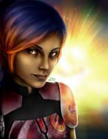Sabine Wren - Star Wars Rebels - fan art by Ires-Myth