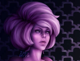 Pink Diamond close-up by Ires-Myth
