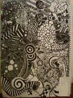 Random abstract art by Mechaice