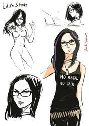 Sketch Draft: Lilith by oshirockingham