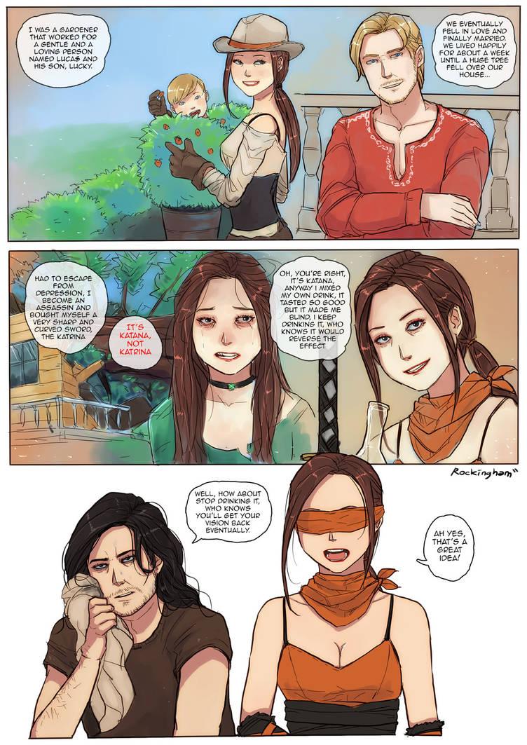 Kira's Backstory by oshirockingham