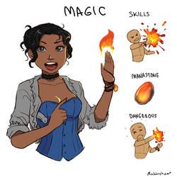 Luxo Ausomis 101: Magic by oshirockingham