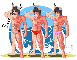 HL - Elijah's Summer Swimsuit Wardrobe by OutroIntroZoom