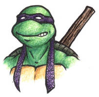 My Favorite Turtle by wingless730