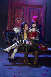 Mad Moxxi and Handsome Jack Heart Breaker 6 by DariaRooz