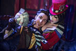 Mad Moxxi and Handsome Jack Heart Breaker 7 by DariaRooz