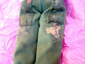 Kaylee, leg detail by jauncourt