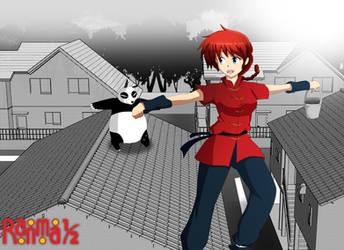 Ranma 1/2 fan-art by Laitonite