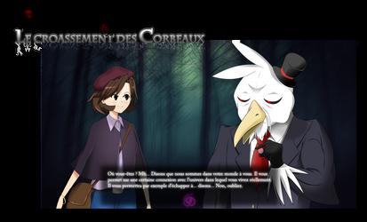 Le Croassement des Corbeaux - Project Visual Novel by Laitonite