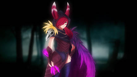 Xayah the rebel - League of Legends by Laitonite