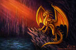 Golden Dragon by Vapolord