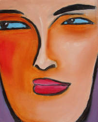 Face Of Woman by shanethayer