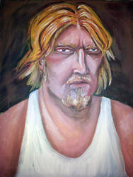 Portrait of a Man by shanethayer