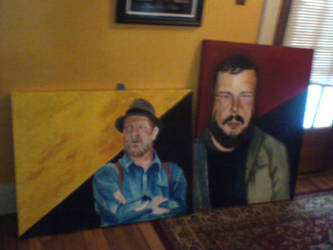 Two Portraits Of the Anarchist Portrait Project by shanethayer